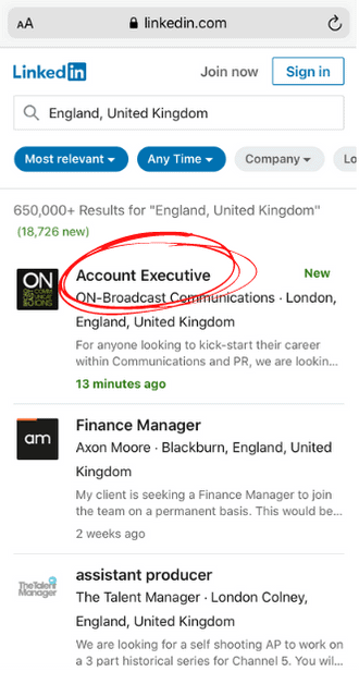 Researching new jobs on LinkedIn after you've lost job can't pay mortgage 4