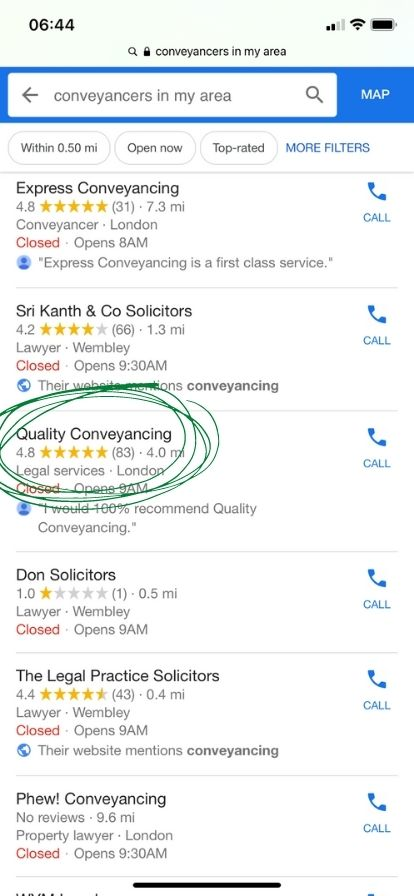 How to Find a Conveyancer 2