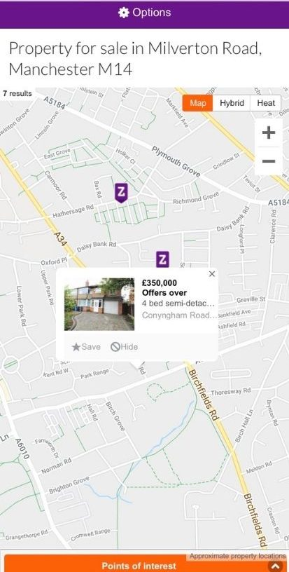 Investigating why houses are not selling at the moment - checking other for sale prices