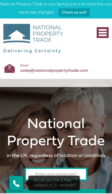 Companies That Buy Houses: Spring (formerly known as National Property Trade)