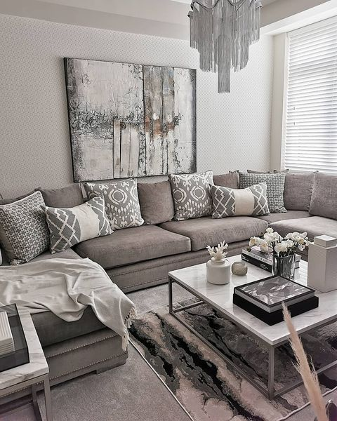 Soft furnishings in a living room are a great way to dress your home