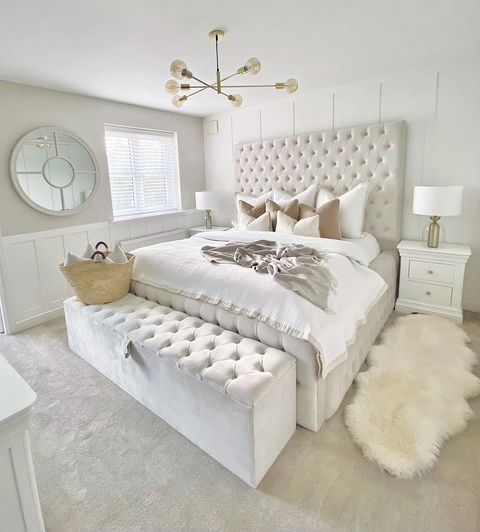 Another master bedroom which is dressed to sell