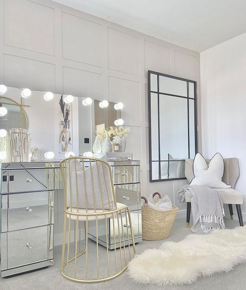 Vanity Areas can be a great addition for the ladies!